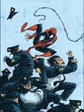 Marvel Adventures Spider-Man No.55 Cover: Spider-Man Plastic Sign by Skottie Young