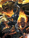 X-Force No.10 Cover: Warpath and Ghost Rider Wall Decal by Mike Choi