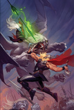 Thor: God of Thunder 13 Cover: Thor, Malekith Plastic Sign by Ron Garney