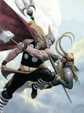 Loki No.2 Cover: Thor and Loki Plastic Sign