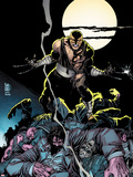 Daken: Dark Wolverine No.7 Cover: Daken Under the Moon at Knight Plastic Sign by Giuseppe Camuncoli