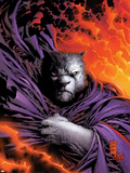 New X-Men No.153 Cover: beast Plastic Sign by Marc Silvestri