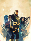 Journey Into Mystery No.628 Cover: Loki and Others Plastic Sign by Stephanie Hans