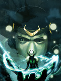 Journey Into Mystery No.623 Cover: Loki Plastic Sign by Stephanie Hans