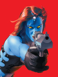 Mystique No.10 Cover: Mystique Plastic Sign