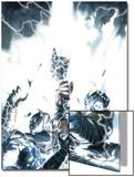 Secret Invasion: Thor No.1 Cover: Thor Print by Gabriele DellOtto