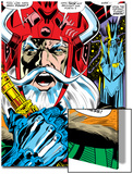 Thor No.180 Headshot: Odin Prints by Neal Adams