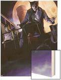 X-Men Noir No.3 Cover: Wolverine Wood Print by Dennis Calero