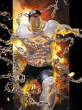 Ultimate Comics X-Men No.9 Cover: Colussus and Broken Chains Plastic Sign by Kaare Andrews