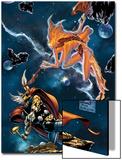 Stormbreaker: The Saga Of Beta Ray Bill No.3 Cover: Stardust and Beta-Ray Bill Flying Art by Andrea Di Vito