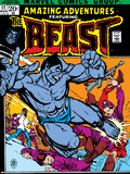 Amazing Adventures No.11 Cover: Beast Plastic Sign by Gil Kane