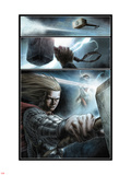 Astonishing Thor No.1: Panels with Thor Posing Plastic Sign by Mike Choi