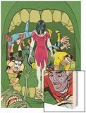 X-Statix No.18 Cover: Deadgirl, Mr. Sensitive, Venus de Milo and X-Statix Prints by Michael Allred
