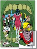 X-Statix No.18 Cover: Deadgirl, Mr. Sensitive, Venus de Milo and X-Statix Posters by Michael Allred