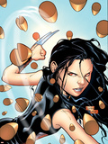 X-23 No.4 Cover: X-23 Plastic Sign by Billy Tan