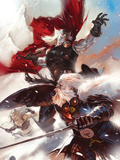 Thor: Man Of War No.1 Cover: Thor and Odin Plastic Sign