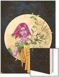 Exiles No.43 Cover: Blink Wood Print by Mizuki Sakakibara