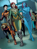 Generation Hope No.5: Hope Summers, Laurie Tromette, Gabriel Cohuelo, Idie Okonkwo and Others Wall Decal by Jamie McKelvie