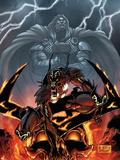Stormbreaker: The Saga Of Beta Ray Bill No.5 Cover: Asteroth Signe en plastique rigide par Andrea Di Vito