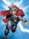 Thor No.6 Cover: Thor Plastic Sign by Olivier Coipel