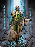 Ultimate Thor No.2 Cover: Loki Flying Plastic Sign by Carlos Pacheco