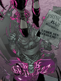 Daken: Dark Wolverine No.5 Cover: Daken Looking at his Reflection Plastic Sign by Giuseppe Camuncoli