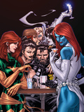 Wolverine Weapon X No.10 Cover: Mystique, Phoenix and Wolverine Plastic Sign by Adam Kubert