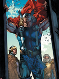 Thor: The Rage of Thor No.1: Thor Seen Through an Opening Plastic Sign by Mico Suayan