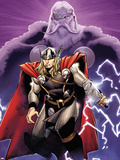 The Mighty Thor No.2 Cover: Thor and Odin Plastic Sign by Olivier Coipel