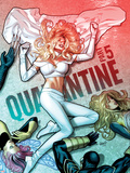 Uncanny X-Men No.534 Cover: Emma Frost has Fallen Plastic Sign by Greg Land