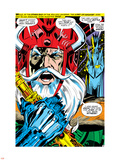 Thor No.180 Headshot: Odin Plastic Sign by Neal Adams