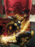Beta Ray Bill: Godhunter No.1 Cover: Beta-Ray Bill and Galactus Plastic Sign by Patrick Zircher