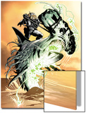 X-Club No.3: Dr. Nemesis Riding a Shark Posters by Paul Davidson