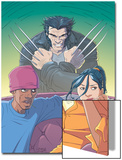 Jubilee No.6 Cover: Jubilee and Wolverine Posters by Casey Jones