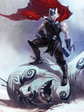 Thor: Ages Of Thunder No.1 Cover: Thor Plastic Sign