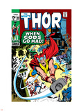 Thor No.180 Cover: Thor Plastic Sign by Neal Adams
