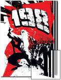X-Men: The 198 No.1 Cover: X-Men Poster by Jim Muniz