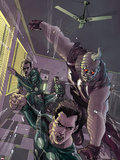 X-Factor No.4 Cover: Madrox and Strong Guy Plastic Sign by Ryan Sook