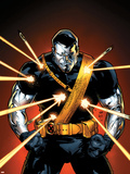 Ultimate X-Men No.56 Cover: Colossus Plastic Sign