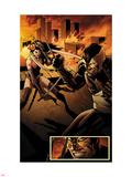 Daken: Dark Wolverine No.7: Daken and Tyger Tiger Wall Decal by Augustin Padilla