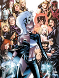 Astonishing X-Men No.47 Cover: Storm Plastic Sign by Mike McKone