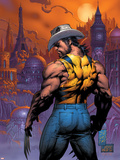 New X-Men No.151 Cover: Logan Plastic Sign by Marc Silvestri
