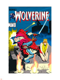 Wolverine No.3 Cover: Wolverine Plastic Sign by John Buscema