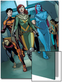 Generation Hope No.5: Hope Summers, Laurie Tromette, Gabriel Cohuelo, Idie Okonkwo and Others Prints by Jamie McKelvie