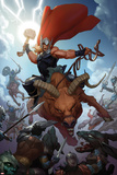 Thor: God of Thunder 14 Cover: Thor Plastic Sign by Ron Garney
