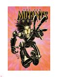 New Mutants Forever No.2 Cover: Warlock Charging Znaki plastikowe autor Arthur Adams