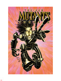 New Mutants Forever No.2 Cover: Warlock Charging Plastic Sign by Arthur Adams