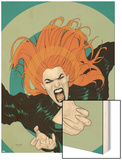 X-Factor No.5 Cover: Siryn Wood Print by Ryan Sook