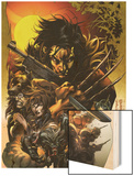 Wolverine No.1000 Cover Wood Print by Sarah Cross