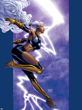 Ultimate X-Men No.42 Cover: Storm Plastic Sign by David Finch